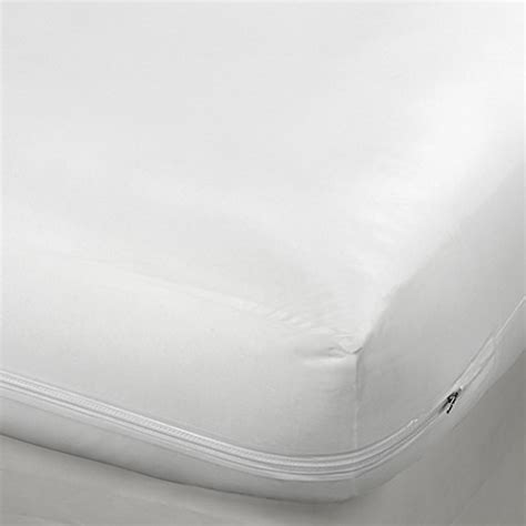 bed bath beyond mattress protector vinyl zippered 9 inch mattress protector bed bath beyond