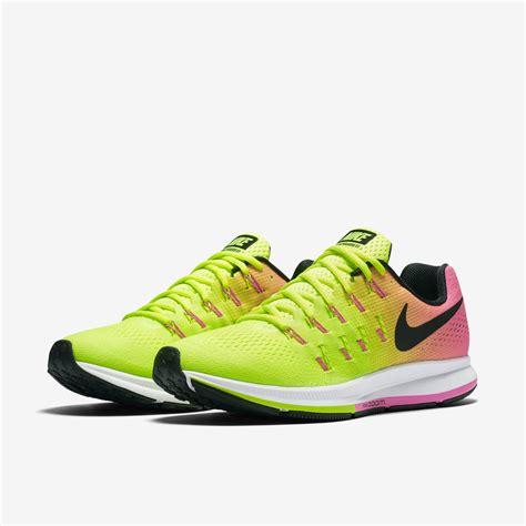 yellow running shoes song yellow green womens nike zoom pegasus 33 shoes