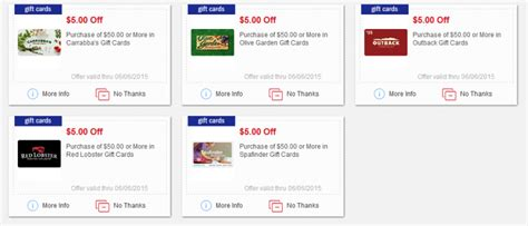 Are Red Lobster And Olive Garden Gift Cards Interchangeable - new meijer mperks gift card coupons olive garden outback red lobster and more