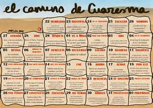 Calendario Cuaresma 2015 Calendario Cuaresma 2015 Car Interior Design