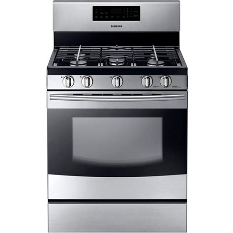 home depot samsung 30in 5 8cu ft self cleaning gas