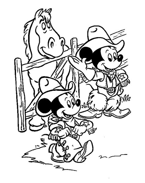 Mickey Mouse And Friends Coloring Pages Mickey Mouse And Friends Coloring Pages