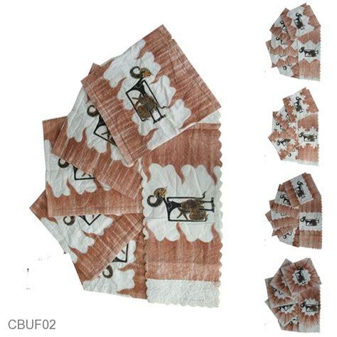 Sarung Bantal Set Unik sarung bantal kursi batik motif batik lukis wayang set