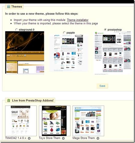 Theme Toko Online Prestashop | mengganti theme website store prestashop seo website blog