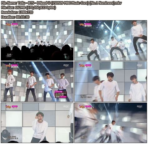 download mp3 bts fallen leaves download perf bts i need u mbc music core 150509 no