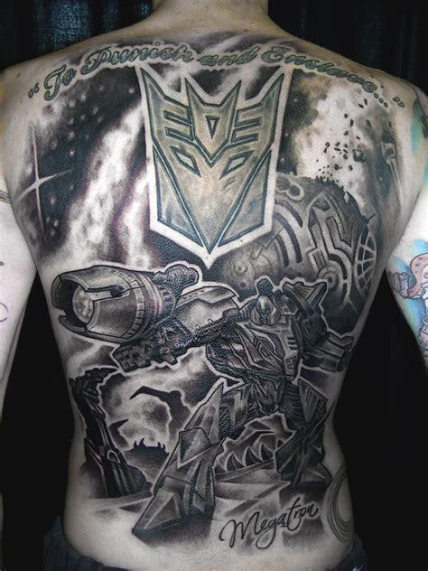 decepticon tattoo 40 wonderful transformer tattoos
