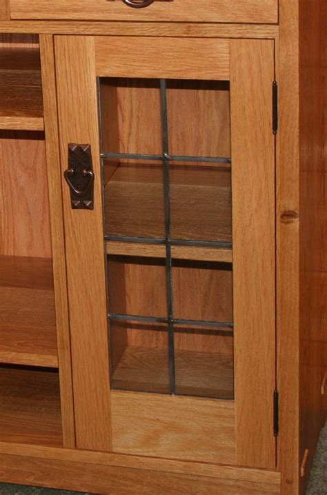 stickley armoire stickley cabinet renegade art glass