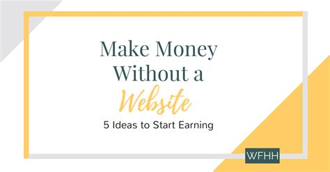 How To Make Money Online Without A Website For Free - make money online without a website