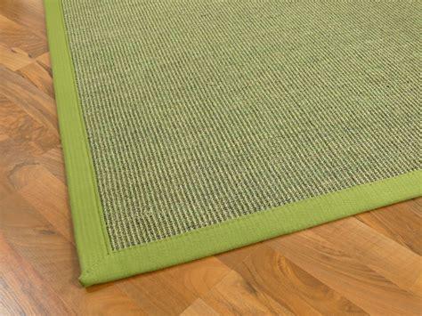 teppiche natur sisal astra natur teppich gr 252 n bord 252 re gr 252 n teppiche sisal