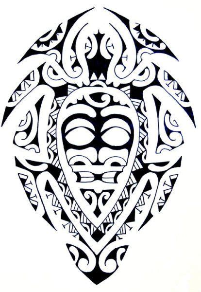 purity tattoo designs designs maori turtle with a tiki god as