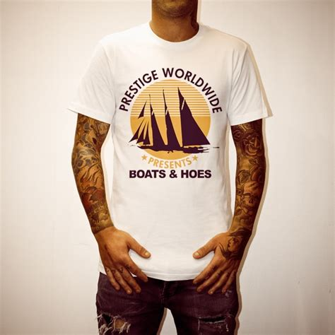 uncle reco boats n hoes boats and hoes white tee uncle reco