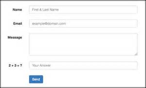 bootstrap form template how to create a working bootstrap contact form with php