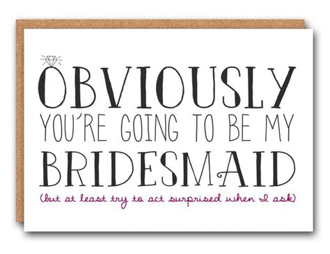 funny bridesmaid card bridesmaid ask card bridesmaid