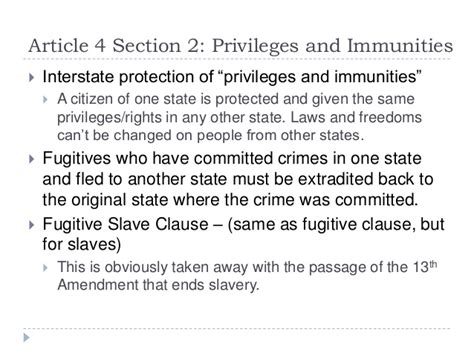 us constitution article 4 section 2 us constitution in detail