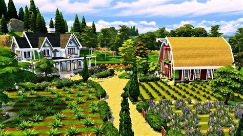 the sims house building family farm youtube idolza the sims 4 parenthood farm speed build youtube