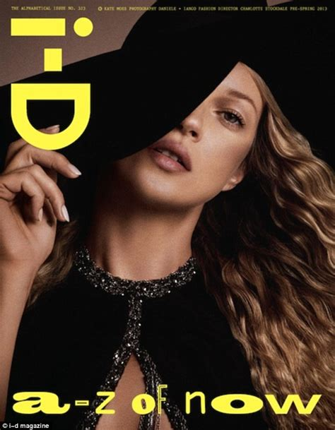 Kate Moss Named Model Of The Year by Kate Moss Lands All Four I D Magazine Covers For Their Pre