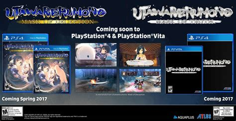 Kaset Ps Vita Utawarerumono Mask Of utawarerumono mask of deception and mask of coming to ps vita ps4 in the west