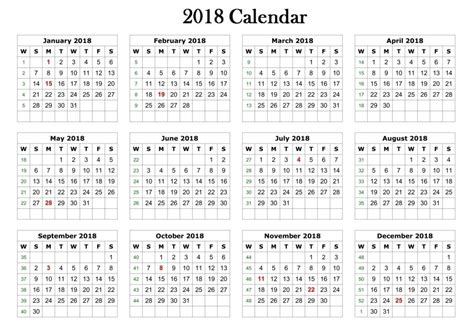 printable calendar 2018 black and white free 2018 printable calendar templates free printable
