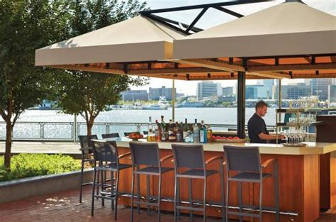 The Waterfront Dining Bar Patio by Four Seasons Baltimore Updated 2017 Prices Hotel