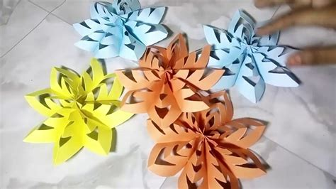 paper flowers origami easy home decorating ideas home paper flowers origami paper folding preschool ideas