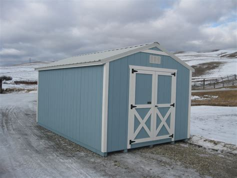 Montana Shed by Utility Shed Montana Structures