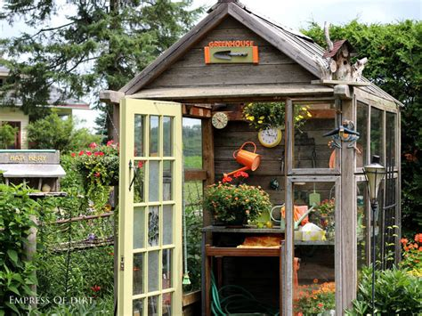 Garden Shed Windows Designs Protect Your Mini Plant By Installing Potting Sheds In Your Garden Carehomedecor