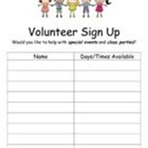 volunteer sign up template 1000 images about marketing on fundraisers