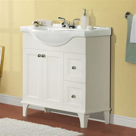 Bathroom Cabinets Menards Magick Woods 34 Quot Concord Collection Vanity Ensemble At Menards 174
