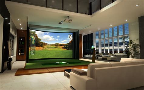 room design simulator next evolution in home entertainment hd golf simulators