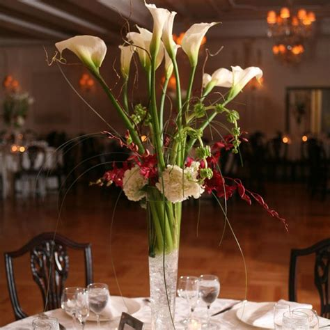 calla lilies centerpieces for weddings wedding