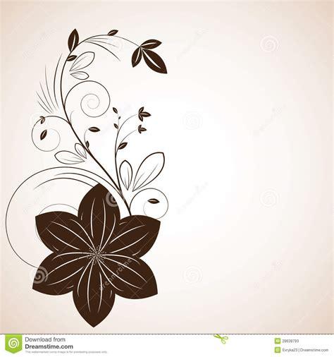 disegni astratti fiori disegno creativo dei bei fiori astratti illustrazione