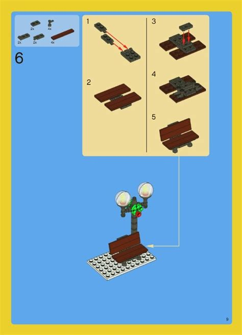 how to make a lego bench 100 best images about legos 2 on pinterest
