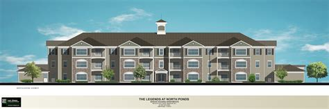 4 Unit Apartment Building Plans by Site Plan The Legends At North Ponds Webster New York