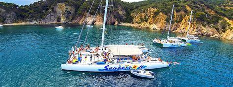 catamaran el sensation fiesta en barcos catamaran sensation catamaran barcelona