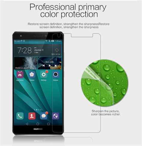 Huawei Y5 Ii Clear Anti Fingerprint Protective Nillkin Antigores nillkin clear anti fingerprint protective for
