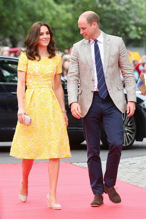 Kate Middleton S 3 Dresses In 1 Day Channels Katniss by Kate Joined Prince William In A Custom Packham Dress