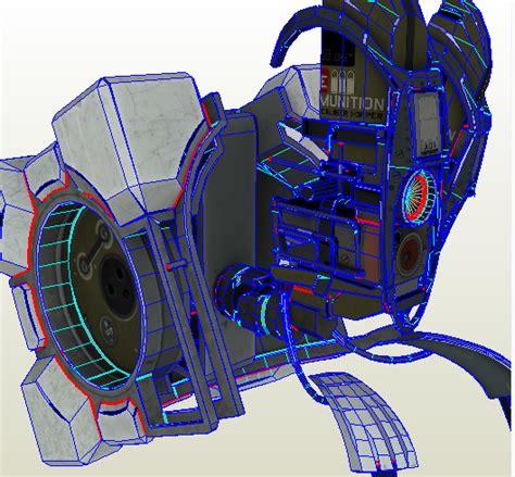 Portal Turret Papercraft - portal 2 frankenturret by melvinmelnick on deviantart