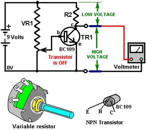 variable resistor transistor free energy devices beginner s electronics tutorial