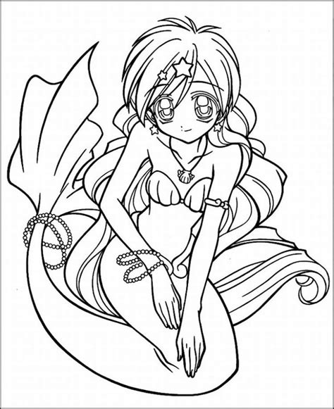 anime coloring page free coloring pages of anime color page