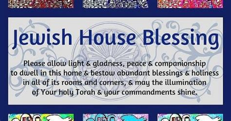 Yiddish Wedding Blessing by House Blessing Uncommon Prayers And Blessings