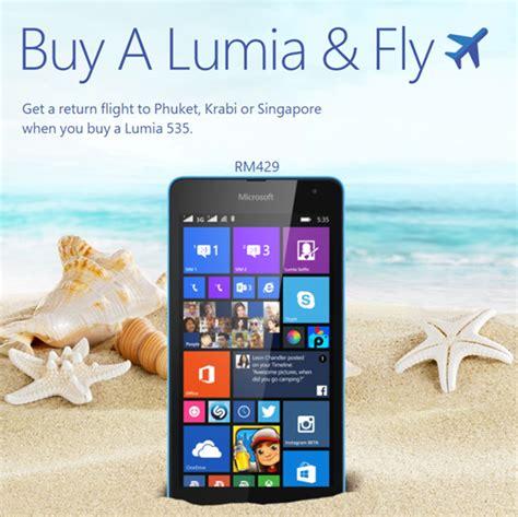 Microsoft Lumia 535 Bandung airasia soyacincau