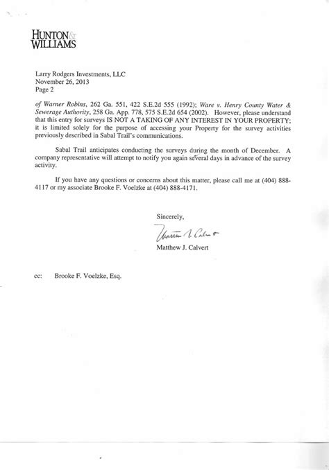 consent letter format llp sabal trail repeatedly sent letters to landowners claiming