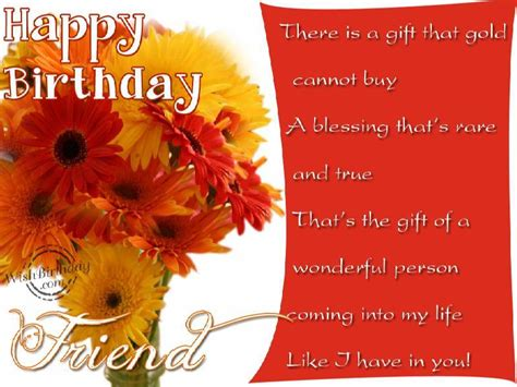 Happy Birthday Wishes To A Wonderful Friend Happy Birthday To A Wonderful Person Wishbirthday Com