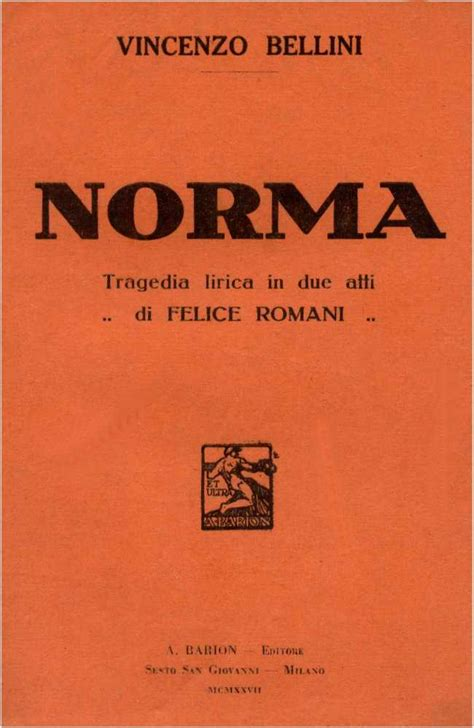 casta libretto norma opera wikiquote