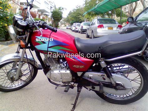 Suzuki Gs 125 For Sale Used Suzuki Gs 125 2007 Bike For Sale In Karachi 101544