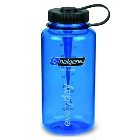 Nalgene Flask Blue nalgene 1 litre wide tritan bottle adventure peaks