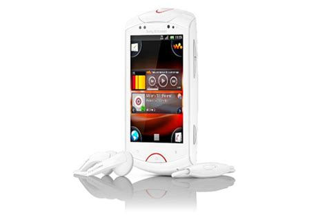 sony ericsson live with walkman android phone unveiled