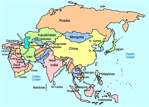 map of asian countries map of asia countries ค นหาด วย portfolio