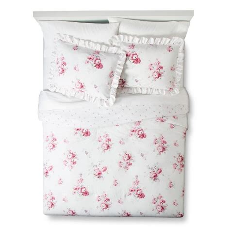Segiempat Shabby Chic Seri 5 sunbleached floral comforter set simply shabby chic target