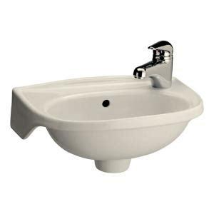pegasus tina wall mounted bathroom sink in bisque 4 551bq